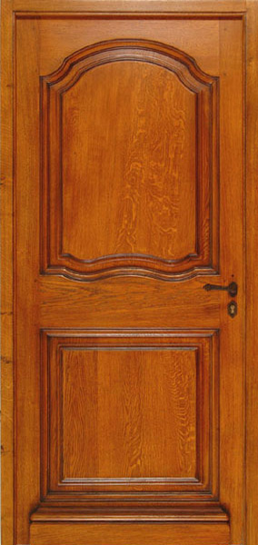 Solid timber doors single doors french provincial style for Single door french doors