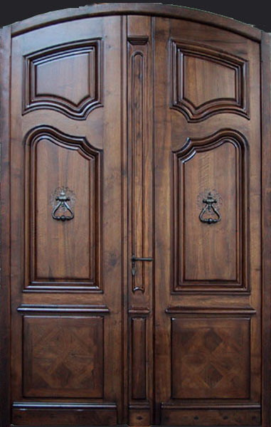 Solid timber doors double doors french provincial style for Double door designs for home