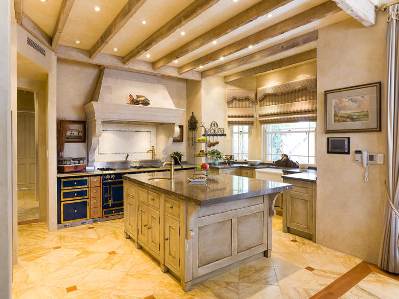 Pictures Of Small French Country Kitchens