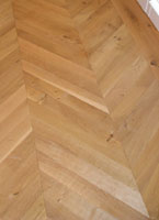 Chevron 45 degree tongue and groove
