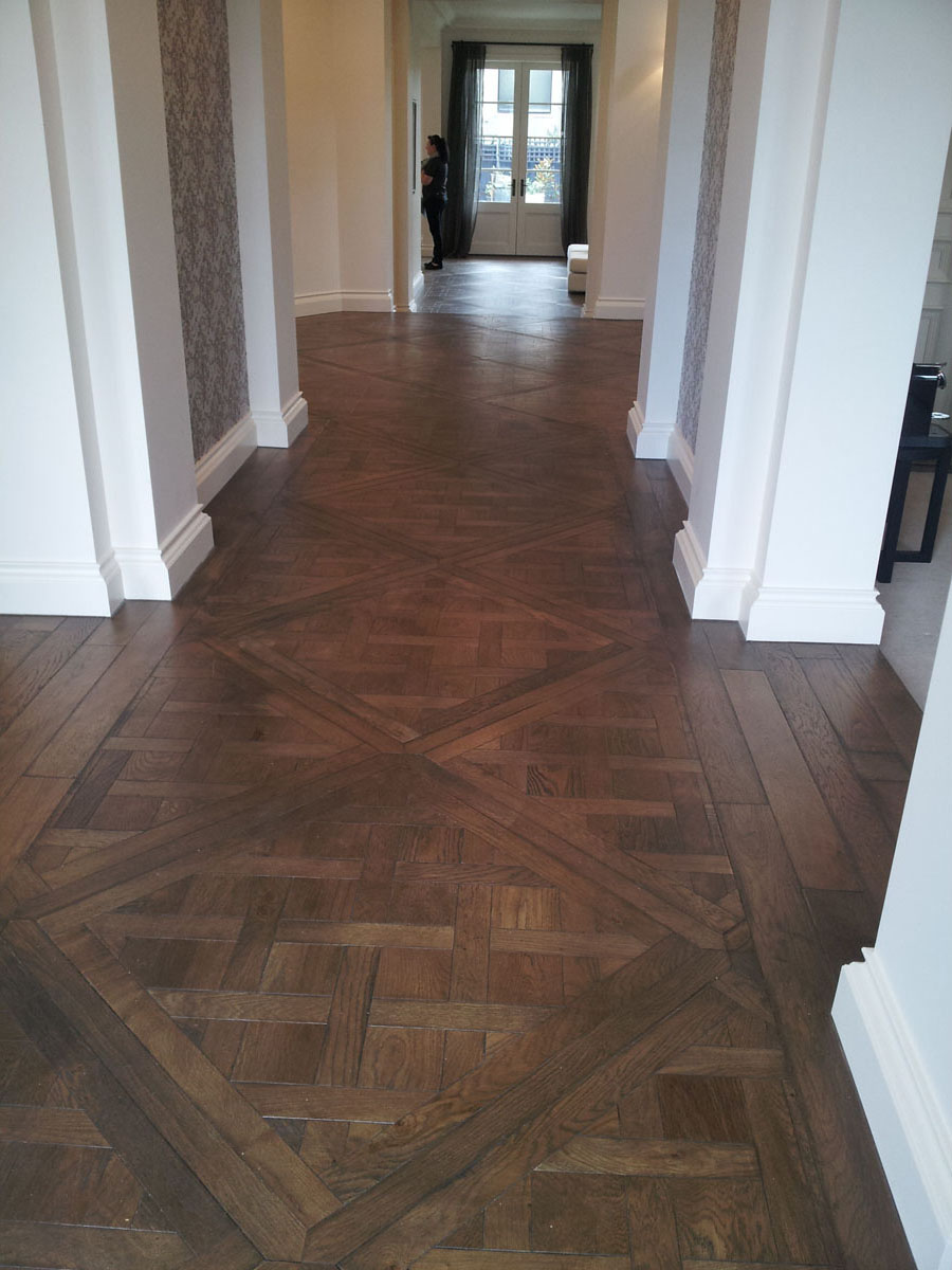Herringbone French Oak Timber Flooring
