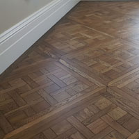 Solid French oak Chantilly parquetry panels 1