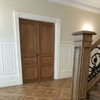 Solid French oak Chantilly panels 3