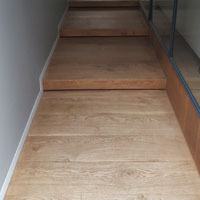 Solid French oak wide board Melbourne 2