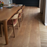 Solid French oak wide board Melbourne 5