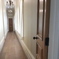 Solid French oak wide board strip floor4