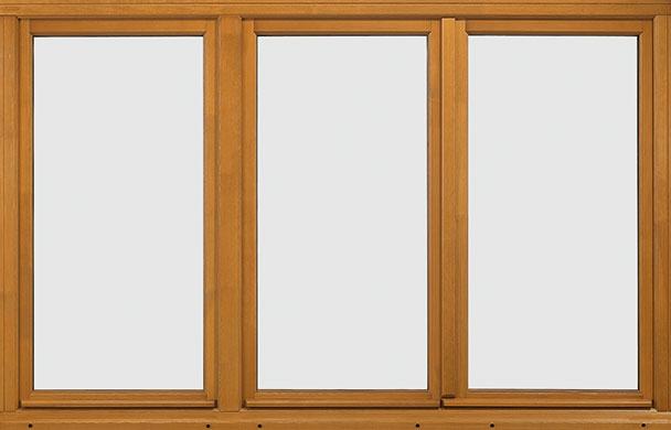 Double glazed timber windows casements french doors for Fenetre 3 vantaux bois