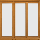 triple sash window, French oak